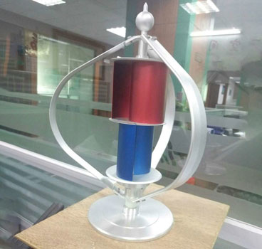 Small Wind Turbine Model No Mechanic Friction For Marketing Promote / Exhibition Show