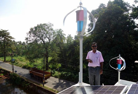 Residential / House Off Grid Wind Turbine Power System 1000W - 6000W